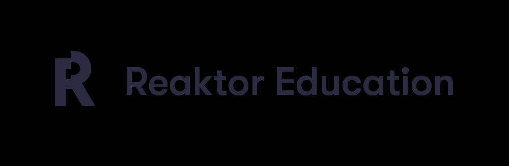Reaktor education logo
